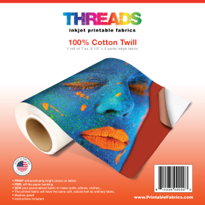 Inkjet Printable Fabric Rolls